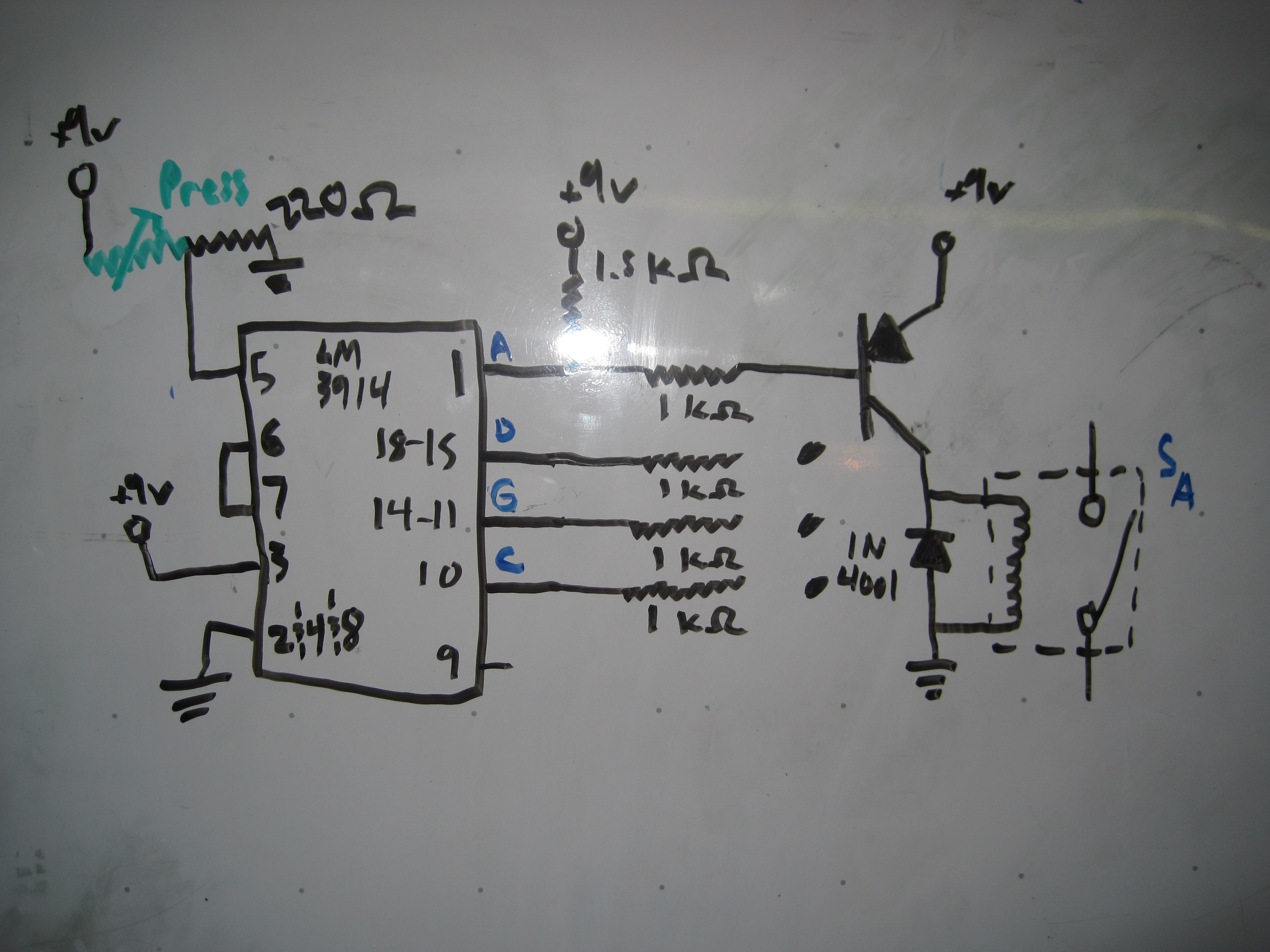4 Comparator Magnetovore Basic Circuit For Lm3914 Datasheet I Used Page 7